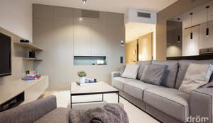 modern Living room by Dröm Living