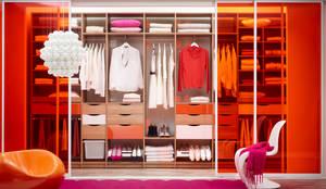Vestidores y closets de estilo ecléctico por Elfa Deutschland GmbH