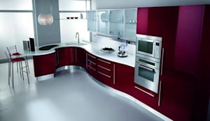 Modular Kitchen:  Kitchen by S.R. Buildtech – The Gharexperts