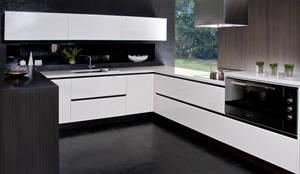 modelo LUX: Cocinas de estilo  por Domi Cocinas