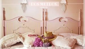 Camas: Dormitorios de estilo minimalista por Capítulo Dos