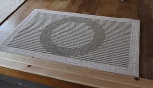 麻だんつう 穂波みのり ベージュ 玄関マット: 穂積繊維が手掛けた玄関&廊下&階段です。