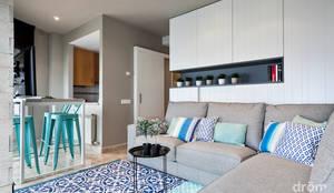 mediterranean Living room by Dröm Living