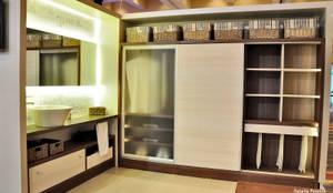 Vestidores y closets de estilo moderno por D&C Interiores
