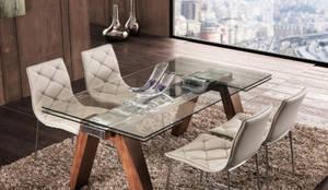 Tavoli Da Pranzo Design : Transparence tavolo da pranzo estensibile italy dream design