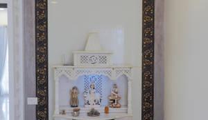 POOJA ROOM /PRAYER AREA:  Artwork by KREATIVE HOUSE