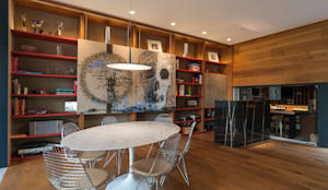 Dining room by MAAD arquitectura y diseño