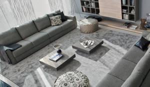 Hochwertiger Designer Couchtisch: moderne Wohnzimmer von Livarea