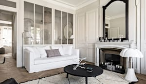 Salon de style de style Scandinave par Design for Love