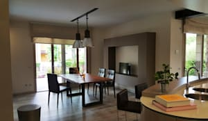 modern Dining room by Studio Ph09 (progress house)