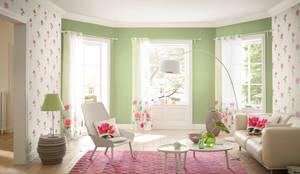 HannaHome Dekorasyon  – Freundin ile her yeni gün, yeni bir eve uyanın…: modern tarz Duvar & Zemin