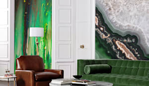 STONE MAGIC: eclectic Living room by Pixers