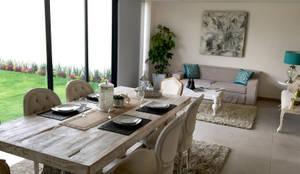 Interior Design: Comedor de estilo  por ESTUDIO FD