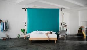 Snooze Project - Die ehrliche Matratze: minimalistische Schlafzimmer von Snooze Project