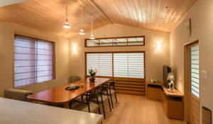 ダイニング: アトリエきらら一級建築士事務所が手掛けたです。