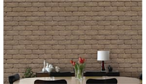 Paredes y pisos de estilo  por ENFOQUE CONSTRUCTIVO