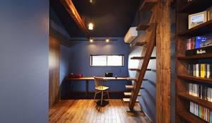 男の隠れ家的書斎: 株式会社スタイル工房が手掛けたです。