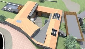 Restauro de Edificio com Planta Quadrangular / Pátio:   por MCSARQ,