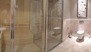 Sauna Inbouwen Badkamer : Aanleg exclusieve badkamer met sauna bouwbedrijf beijert bouw