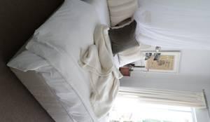 Master Bedroom: eclectic Bedroom by Claire Cartner Interior Design