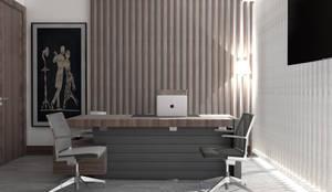 GN İÇ MİMARLIK OFİSİ – Istanbul Nişantaşı Ofis Dekorasyonu:  tarz Ofis Alanları & Mağazalar