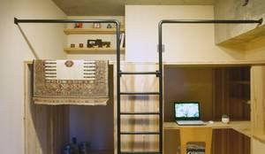 子供室: A.A.TH ああす設計室が手掛けた子供部屋です。