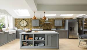 The SW12 Kitchen by deVOL: industrial Kitchen by deVOL Kitchens