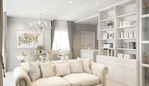 Areeya como บางนา:   by Phrixus interior design co.,ltd.