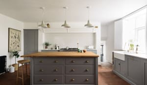 rustic Kitchen تنفيذ deVOL Kitchens