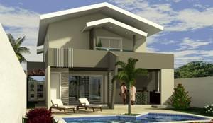 Residencia em condomínio fechado:   por Appoint Arquitetura e Engenharia