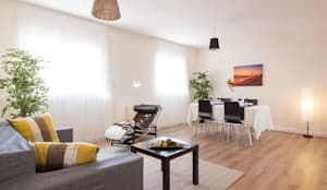 Home Staging en comedor: Comedor de estilo  de Impuls Home Staging