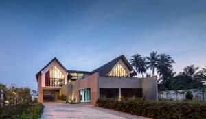 Baan Klang Suan:   โดย ForX Design Studio,