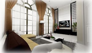 บ้านตัวอย่าง grand city home krabi:   by Room 207 Thailand