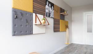 Sala de estar  por Mignon van de Bunt Interieurontwerp, Styling & Realisatie