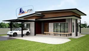 de estilo  por Litahouse design and building