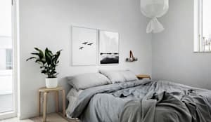 Inspiración para dormitorio: Dormitorios de estilo escandinavo por Vero Capotosto