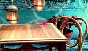 Sillas thonet antiguas intervenidas de muebles eran los de for Muebles estilo industrial buenos aires