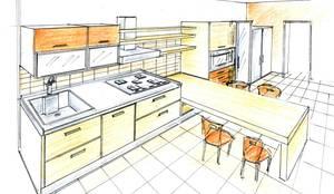 cucina con penisola:  in stile  di Studioa2