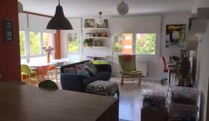 ANTES/DESPUÉS SALÓN:  de estilo  de HOME AND EMOTION