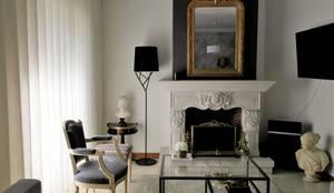 DEPOIS - Sala de estar:   por Ci interior decor