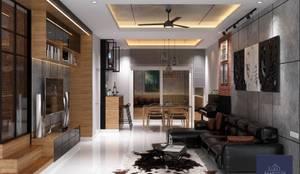 โครงการ Space ลาดพร้าว 80:   by BAANSOOK Design & Living Co., Ltd.