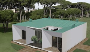 La casa mediterranea sostenibile :  in stile  di JFD - Juri Favilli Design