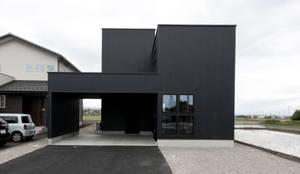 カートンハウス: 有限会社 法澤建築デザイン事務所が手掛けたです。
