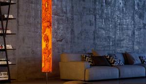Arbor Olivesche : moderne Esszimmer von LeuchtNatur- Leuchten aus der Natur