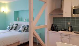 Pormenor de um apartamento:   por Maia e Moura Arquitectura