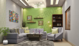 Apartment:   by Tribuz Interiors Pvt. Ltd.
