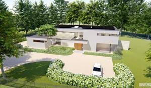 Waalre villa S : modern  door watkostbouwen.nl , Modern