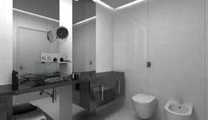 Banheiro masculino: Banheiro  por Grupo DH arquitetura