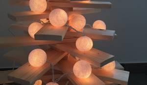 l'albero de legn: Ingresso, Corridoio & Scale in stile in stile Eclettico di Daniele Piazzola architetto