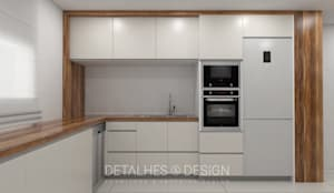 Projeto Design de Interiores - Remodelação de Cozinha :   por Detalhes & Design